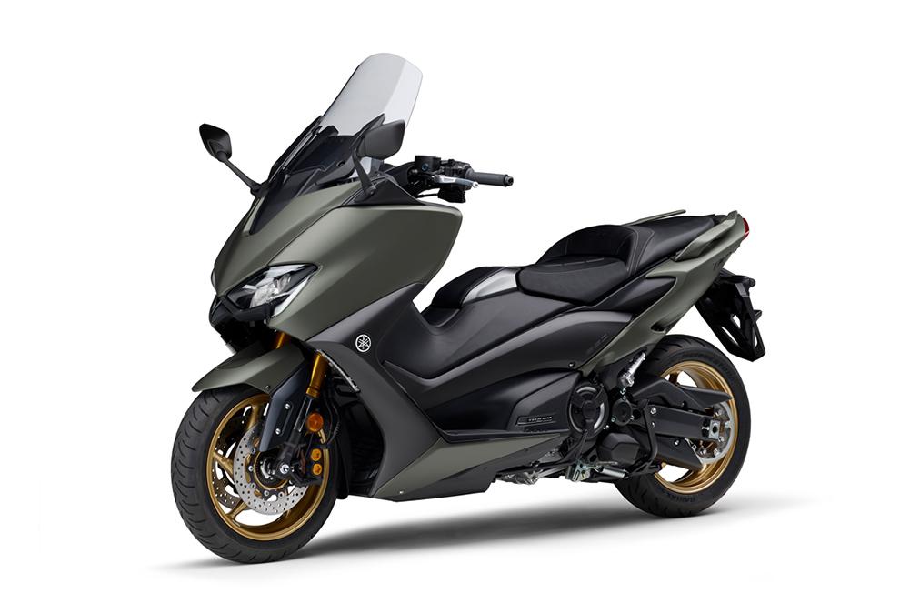 画像8: ヤマハが「TMAX560 テックマックス」の2021年モデルを発売! 新色はパステルダークグレー、人気カラー投票実施中