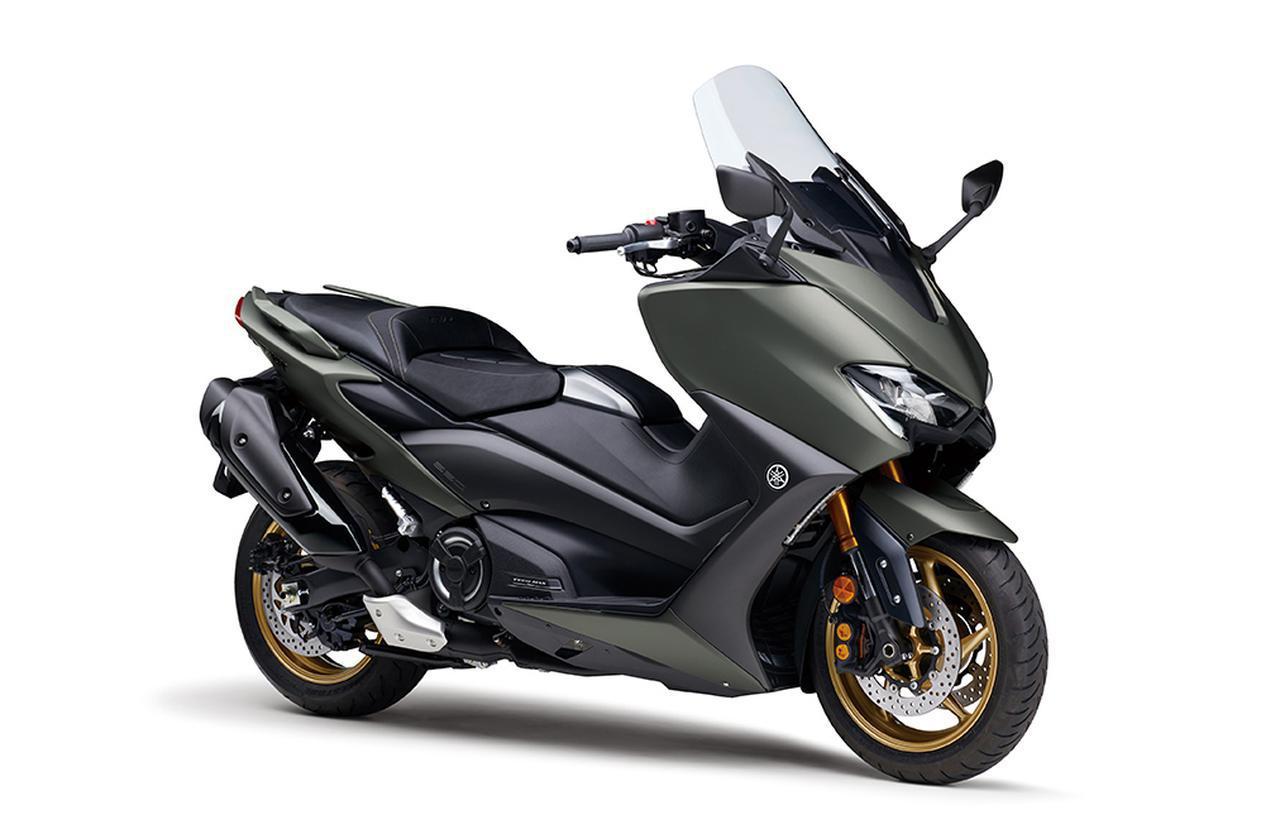 画像7: ヤマハが「TMAX560 テックマックス」の2021年モデルを発売! 新色はパステルダークグレー、人気カラー投票実施中