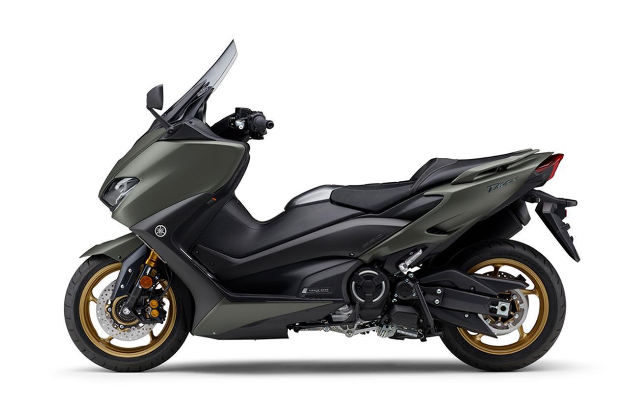 画像6: ヤマハが「TMAX560 テックマックス」の2021年モデルを発売! 新色はパステルダークグレー、人気カラー投票実施中