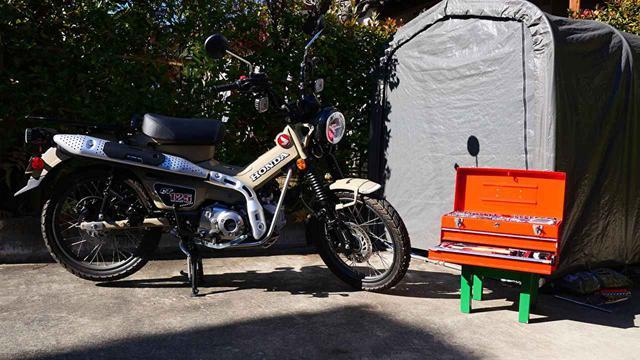 画像: ▶▶▶連載初回の記事はこちら CT125の購入理由&オーナー目線のファーストインプレッション! - webオートバイ