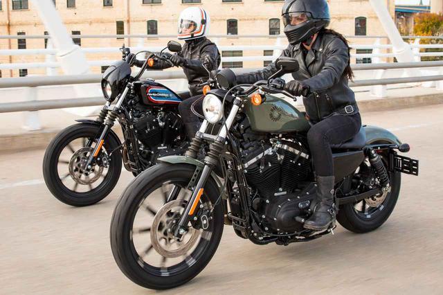 画像: 2021年型のスポーツスターは3機種 - webオートバイ