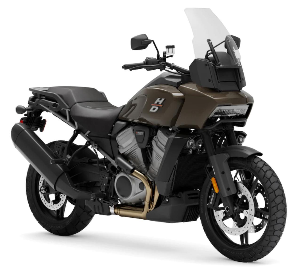 画像: Harley-Davidson Pan America 1250 総排気量:1252cc エンジン形式:水冷4ストDOHC4バルブV型2気筒 最高出力:152PS(112kW)/8750rpm 最大トルク:128Nm