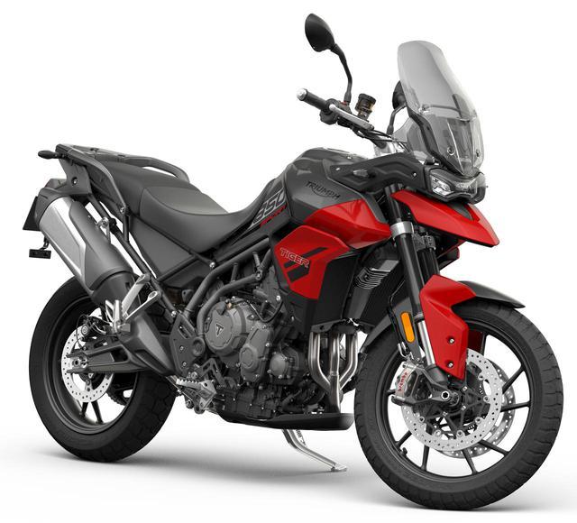 画像: トライアンフ「タイガー850スポーツ」2021年2月発売 - webオートバイ