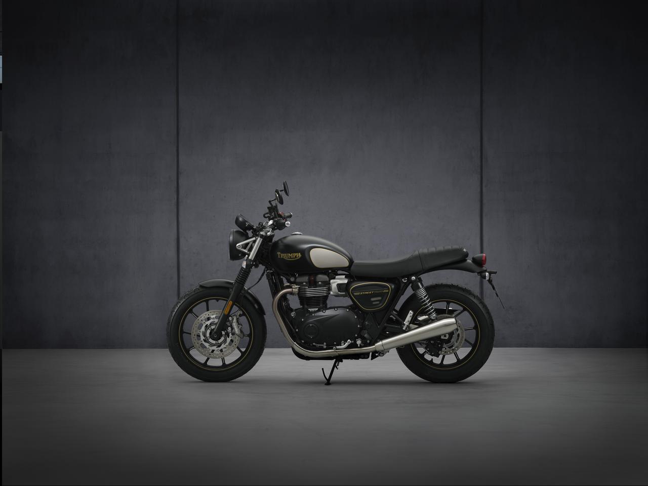 Images : 38番目の画像 - 【写真55枚】新型「ストリートツイン」「ストリートツイン ゴールドライン」 - webオートバイ