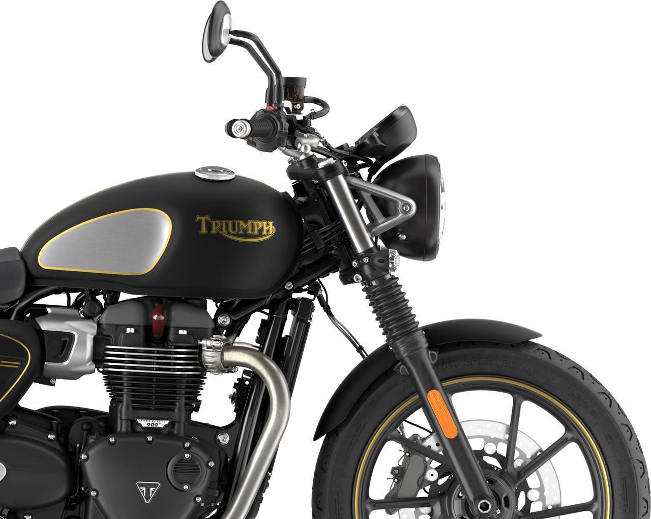 画像: トライアンフ「ストリートツイン」もモデルチェンジ! 限定1000台の特別仕様車も登場 - webオートバイ