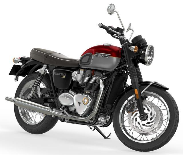 画像: 兄弟モデル「ボンネビルT120」も新型に! - webオートバイ