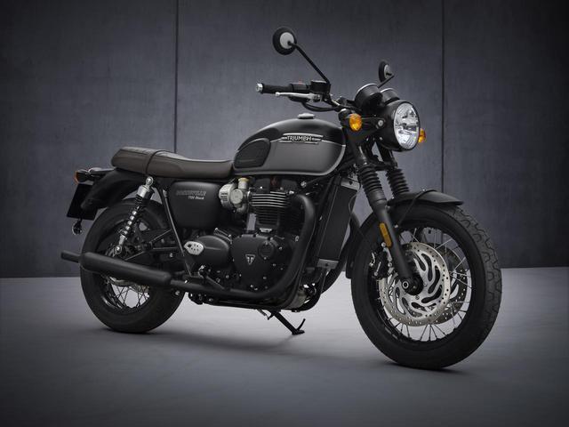 画像: TRIUMPH Bonneville T120 Black 日本での発売予定時期:2021年4月 メーカー希望小売価格:税込157万6000円~160万2500円