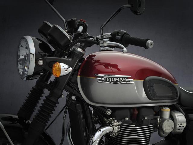 画像: トライアンフ新型「ボンネビルT120」の情報- webオートバイ