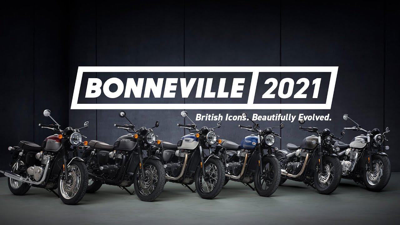 画像: Bonneville 2021 | British Icons. Beautifully Evolved www.youtube.com