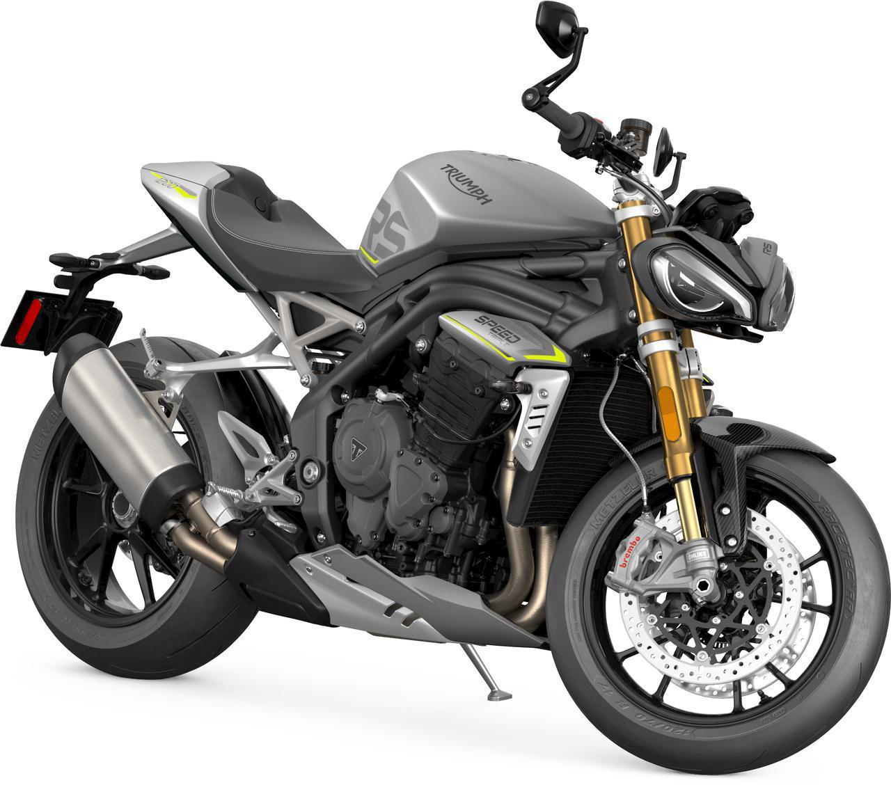 画像: トライアンフ「スピードトリプル1200RS」2021年1月予約受付開始- webオートバイ