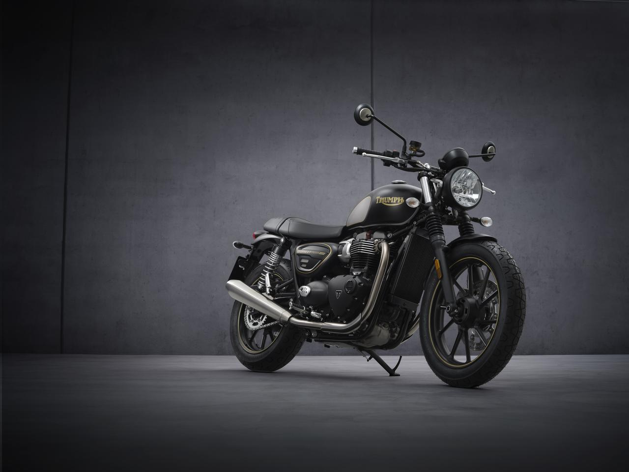Images : 34番目の画像 - 【写真55枚】新型「ストリートツイン」「ストリートツイン ゴールドライン」 - webオートバイ