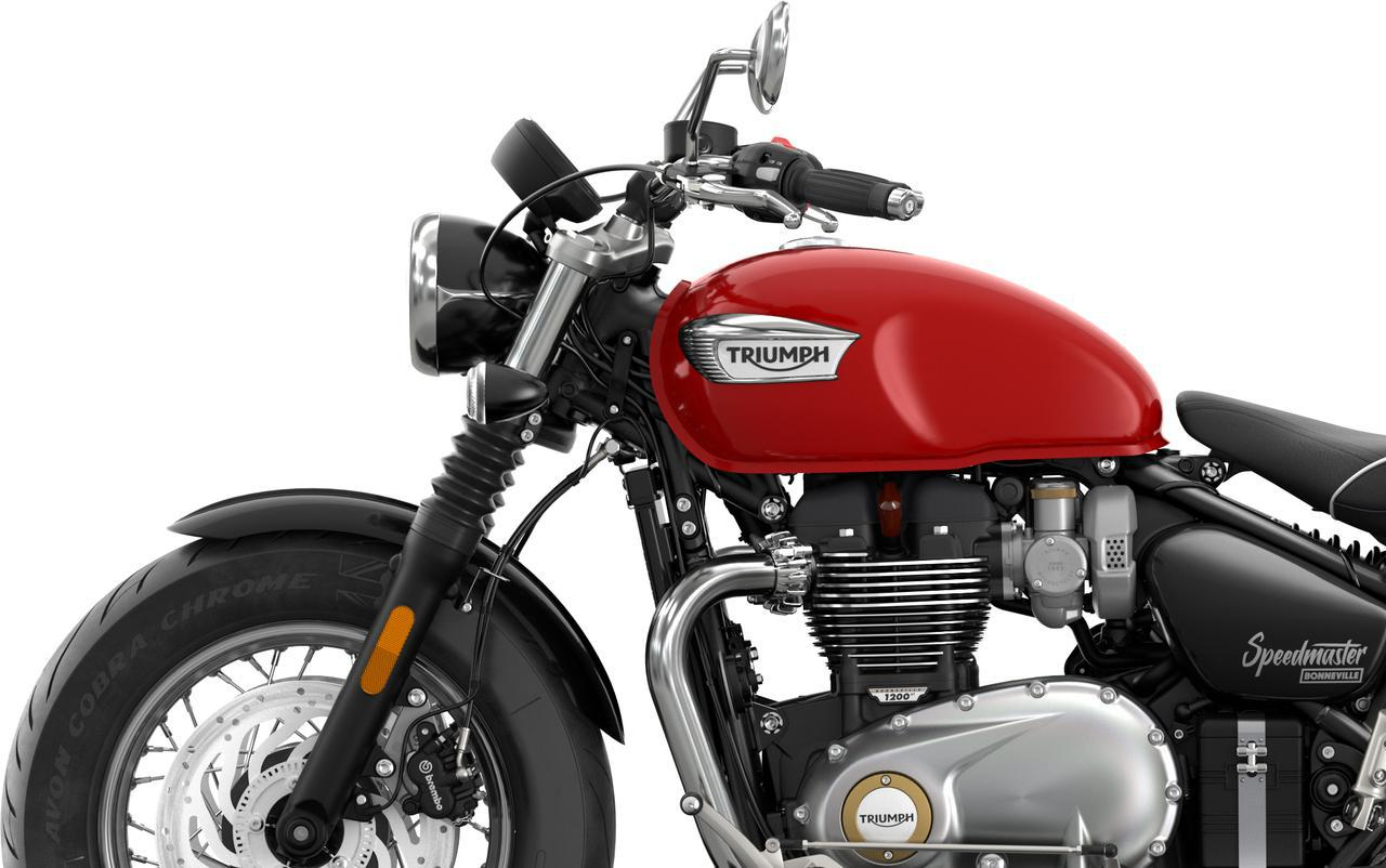 画像: 新型「ボンネビルスピードマスター」のカラー・スペック・詳細はこちら- webオートバイ