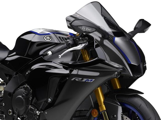 画像: 「YZF-R1M」「YZF-R1」カラー情報 - webオートバイ