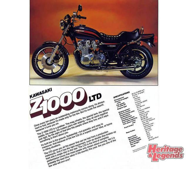 画像1: Z系のコンセプトを生かしたZ1000LTDの歩み
