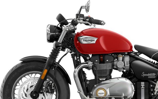 画像: トライアンフ「ボンネビル・スピードマスター」2021年モデル情報 - webオートバイ