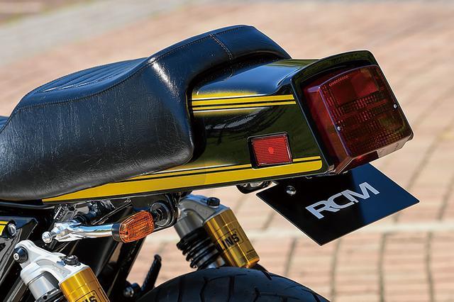 画像: シートはRCMに最適化されたデイトナRCMコンセプトシート。ウインカーは小ぶりなものに換装してスマートな印象を作る。