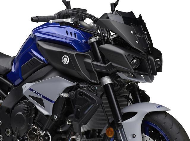 画像: ヤマハ「MT-10」「MT-10 SP」 カラー情報 - webオートバイ