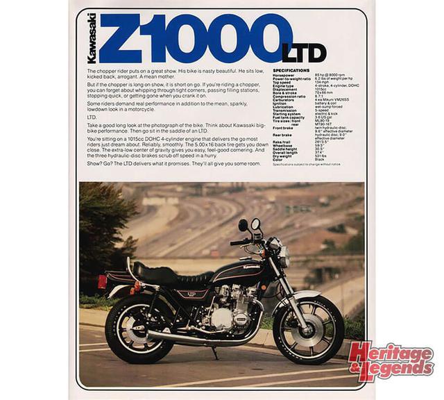 画像2: Z系のコンセプトを生かしたZ1000LTDの歩み