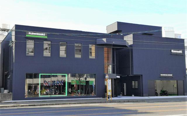 画像: 広島市西区にカワサキのバイク専門店「カワサキ プラザ広島」が2月18日オープン! - webオートバイ