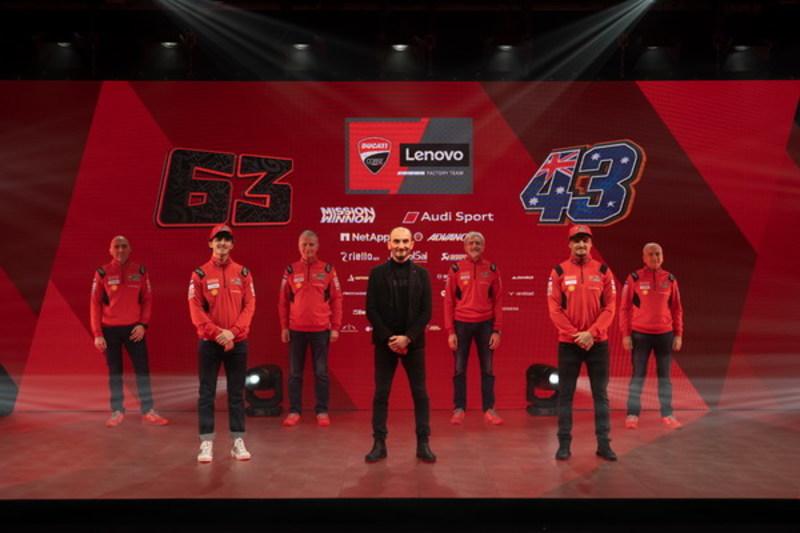 画像: ドゥカティ・チームが2021年チーム体制発表|ライディングスポーツ ドットコム