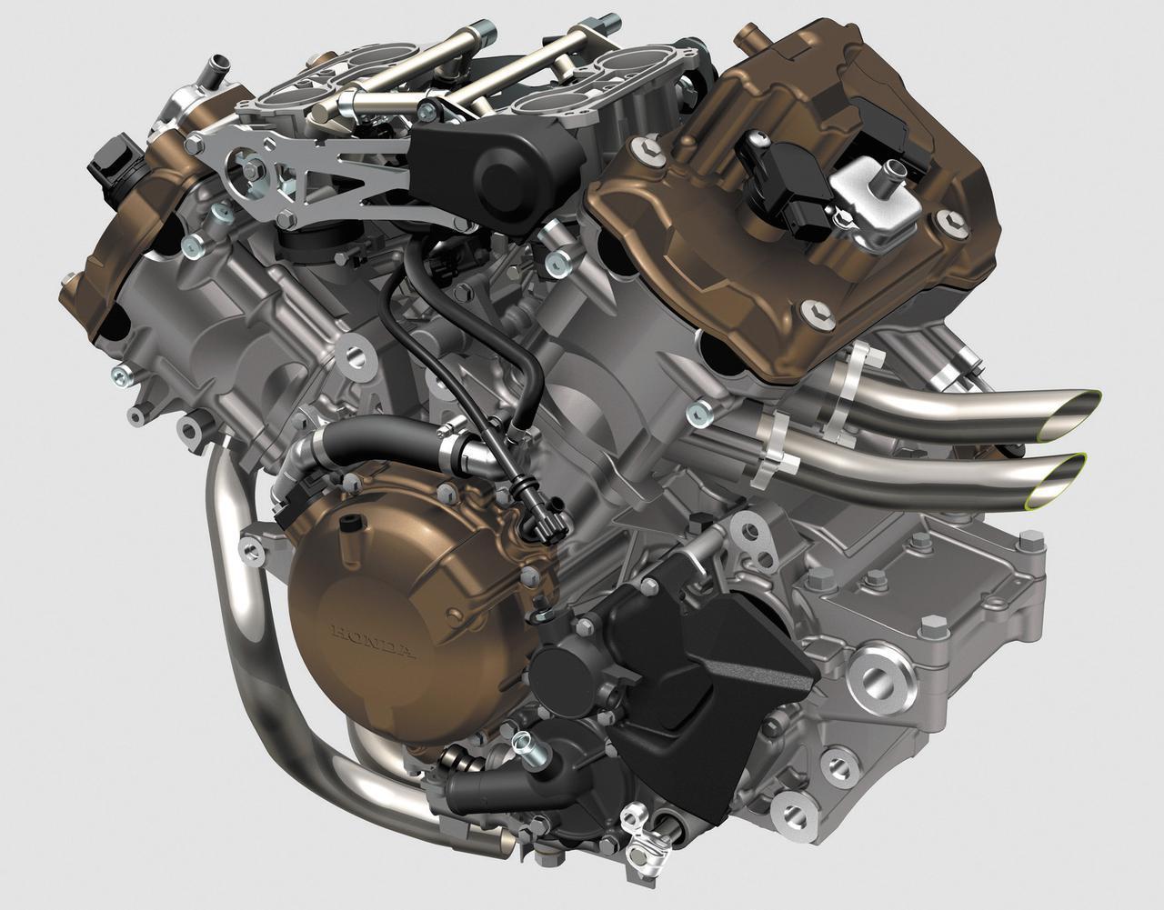 画像: 長い歴史を持つV4エンジンは、ハイパーV-TECを採用、出力と燃費を両立した最新仕様。