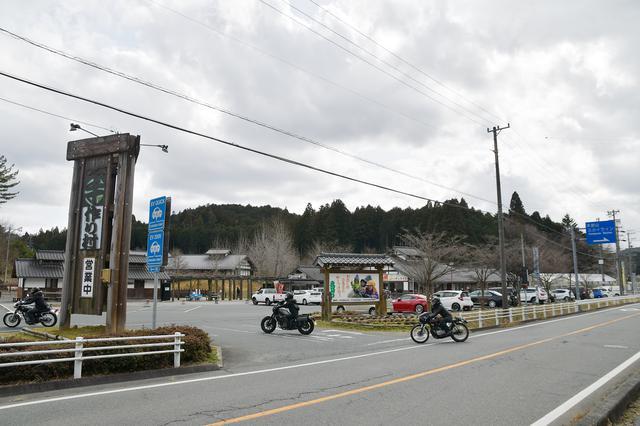 画像1: 道の駅「つくで手作り村」の美河ハム売店に向かうのだ