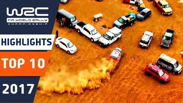 画像: WRC 2017: Top 10 Highlights. Crashes, big jumps, Mistakes, funny moments and flat out action. www.youtube.com
