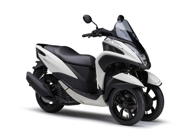 画像15: ヤマハが原付二種「トリシティ125」の2021年モデルを発売! 鮮明な新色〈イエロー〉が登場