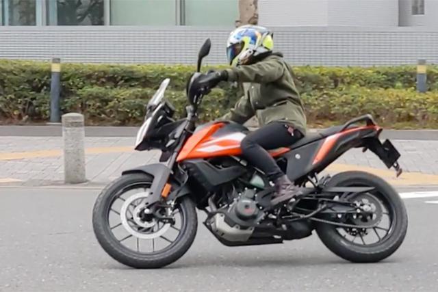 """画像2: 155cm女子ライダーの、少しは参考になるかも? インプレッション """"KTM 250 ADVENTURE""""【レディスバイク】"""