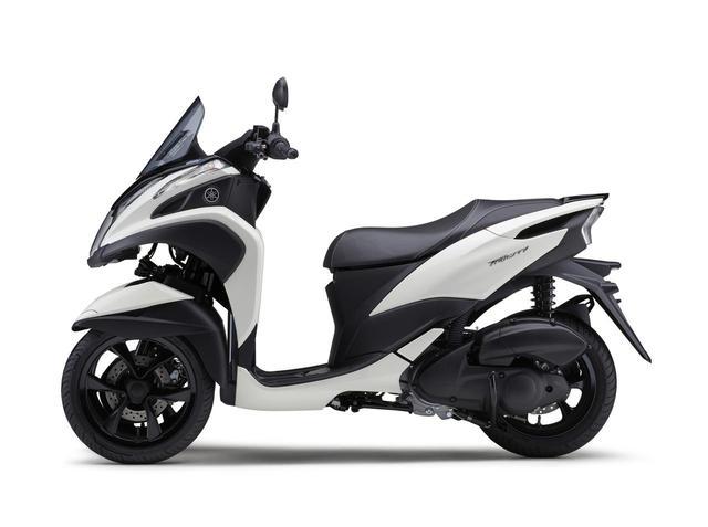 画像6: ヤマハが原付二種「トリシティ125」の2021年モデルを発売! 鮮明な新色〈イエロー〉が登場