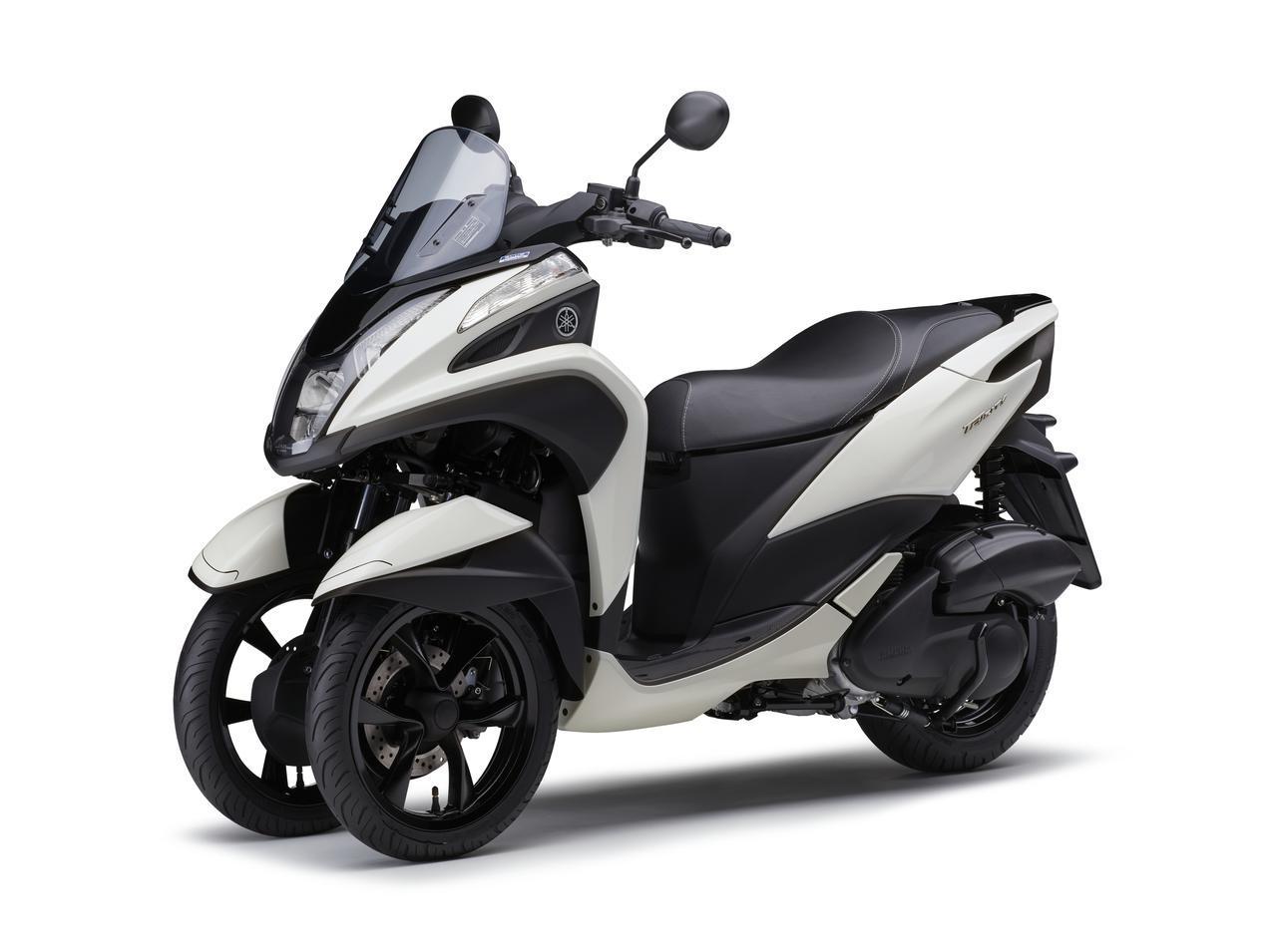 画像8: ヤマハが原付二種「トリシティ125」の2021年モデルを発売! 鮮明な新色〈イエロー〉が登場