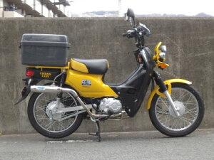 画像: 【楽天市場】クロスカブ(CROSSCUB)JA10 ファントレックマフラー 政府認証モデル UNLABEL (アンレーベル):バイク用品・パーツのゼロカスタム