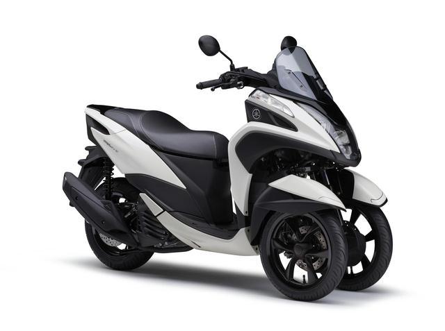 画像7: ヤマハが原付二種「トリシティ125」の2021年モデルを発売! 鮮明な新色〈イエロー〉が登場