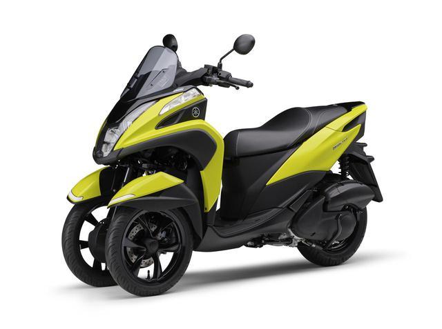 画像4: ヤマハが原付二種「トリシティ125」の2021年モデルを発売! 鮮明な新色〈イエロー〉が登場
