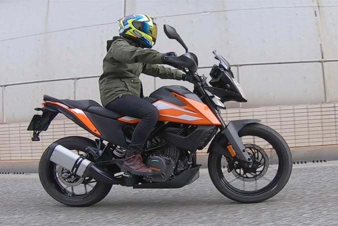 """画像4: 155cm女子ライダーの、少しは参考になるかも? インプレッション """"KTM 250 ADVENTURE""""【レディスバイク】"""