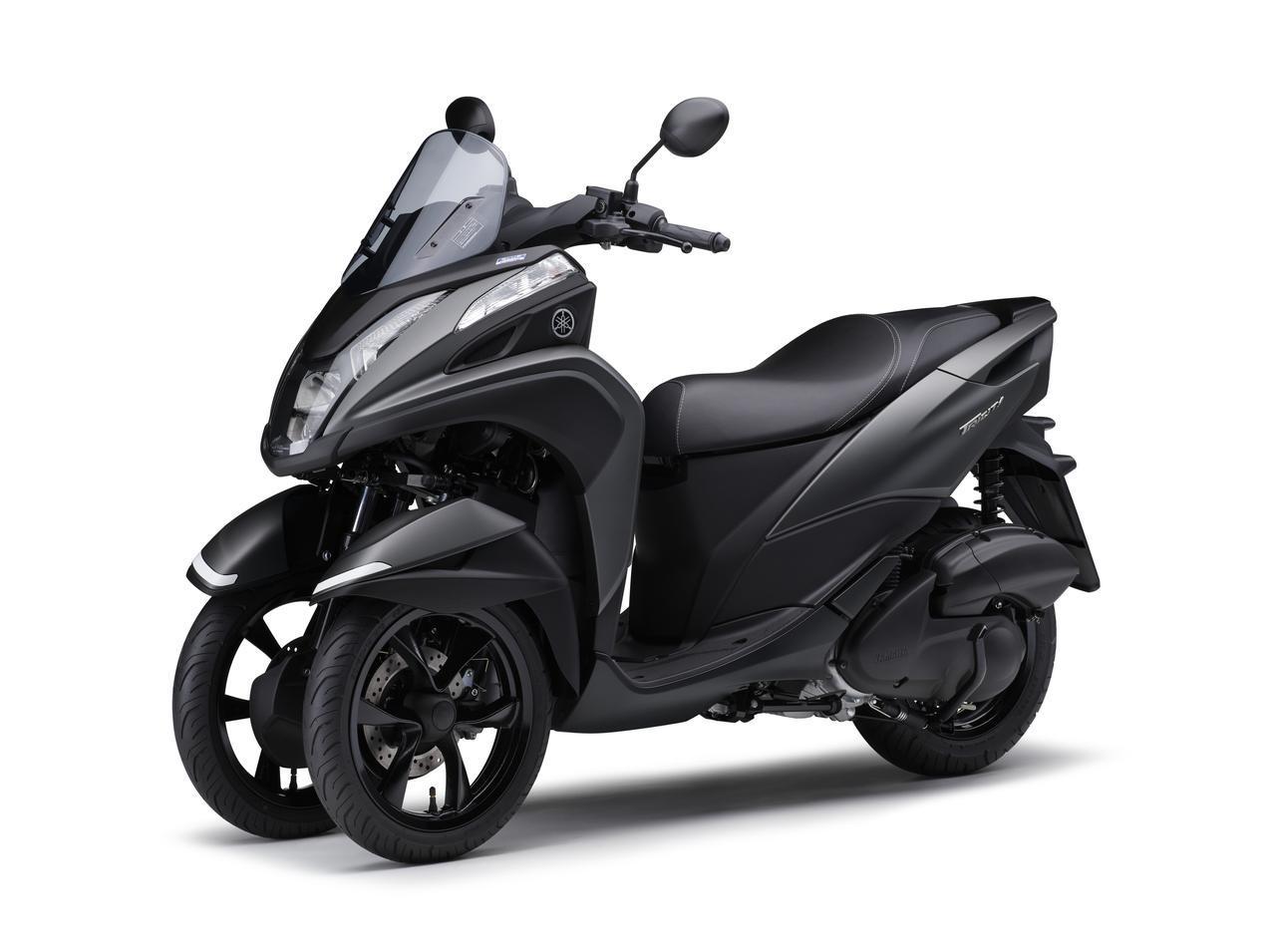 画像12: ヤマハが原付二種「トリシティ125」の2021年モデルを発売! 鮮明な新色〈イエロー〉が登場