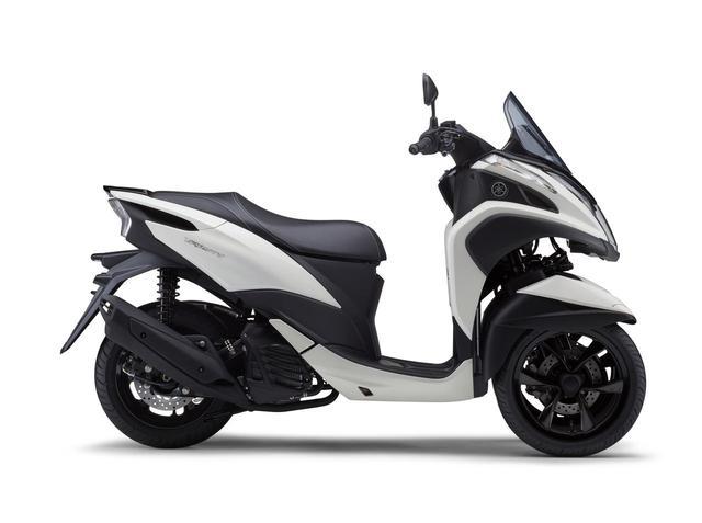 画像5: ヤマハが原付二種「トリシティ125」の2021年モデルを発売! 鮮明な新色〈イエロー〉が登場