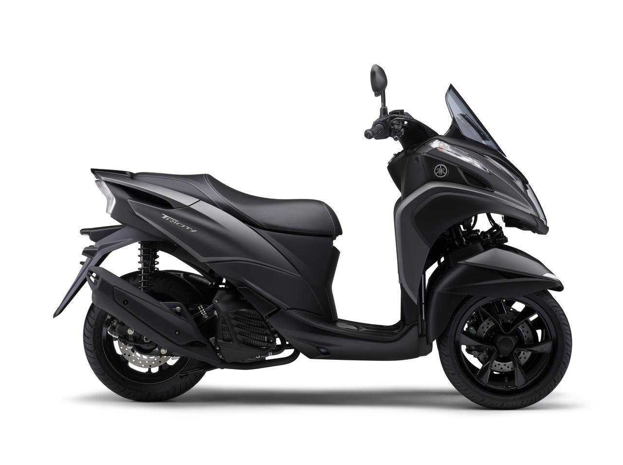 画像9: ヤマハが原付二種「トリシティ125」の2021年モデルを発売! 鮮明な新色〈イエロー〉が登場