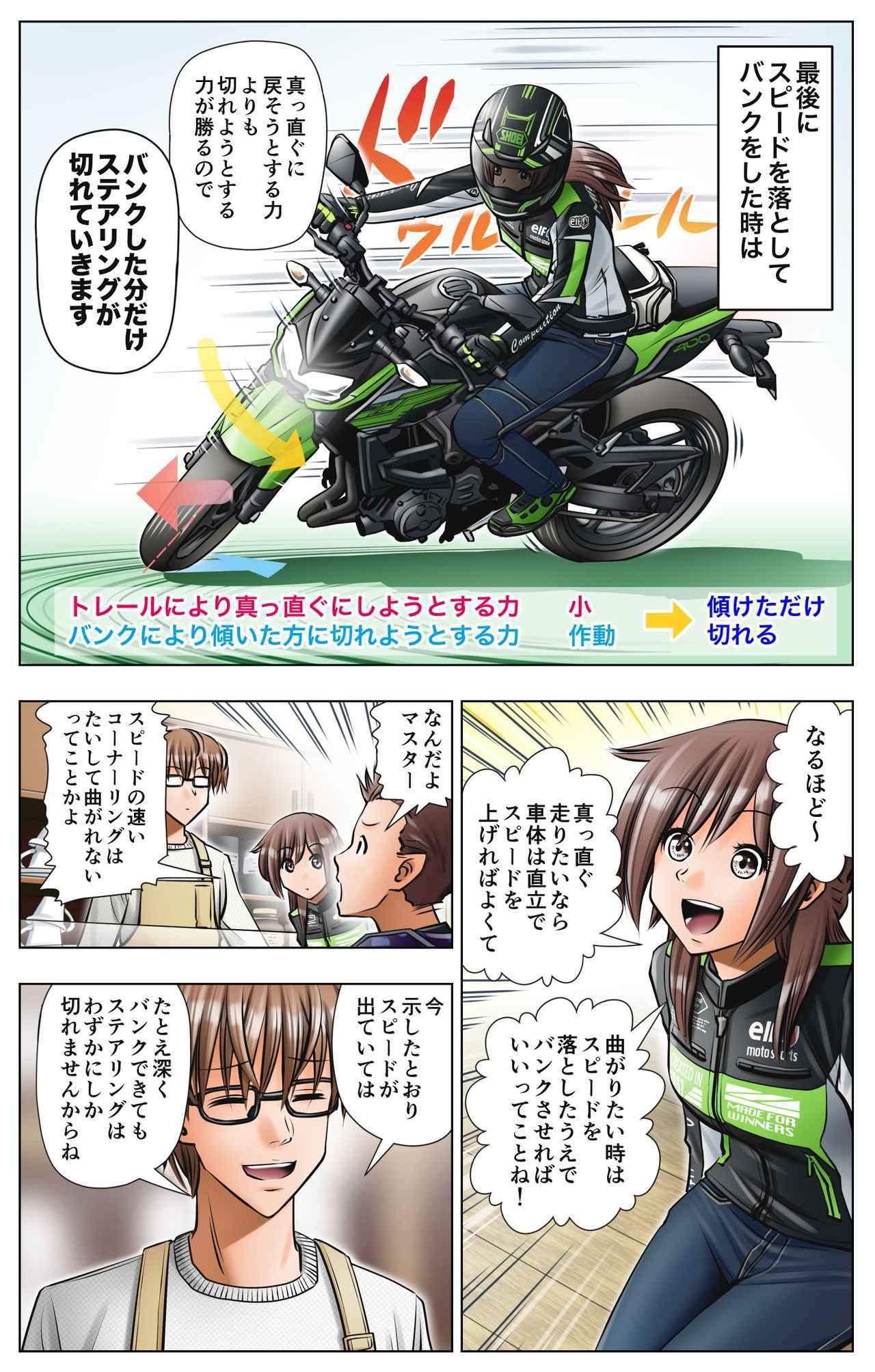 画像7: 第7話 スピードとバンク角/ゆる~くライテク談義『モトシーカーズ・カフェへようこそ!』