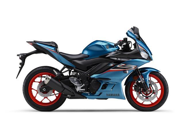 画像: 【写真12枚】カラーをチェック! 「YZF-R3 ABS」2021年モデル - webオートバイ