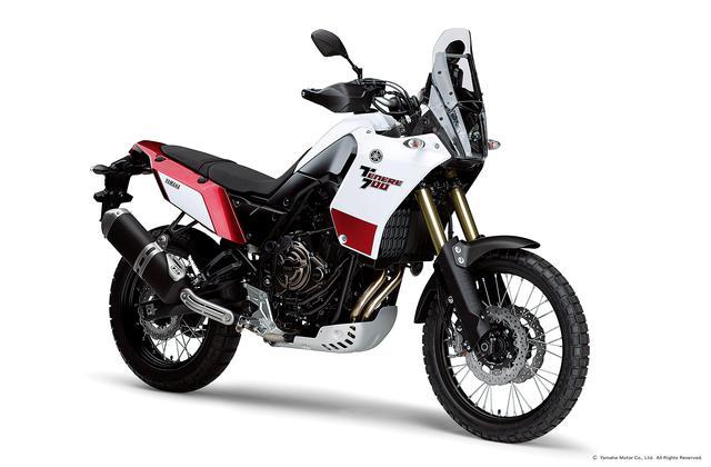 画像: ヤマハ「テネレ700」にはローダウン仕様もあり! - webオートバイ