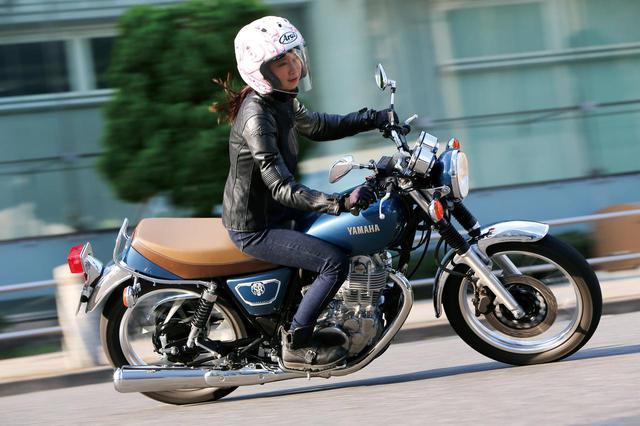 画像: 「SR400」インプレ・解説 - webオートバイ