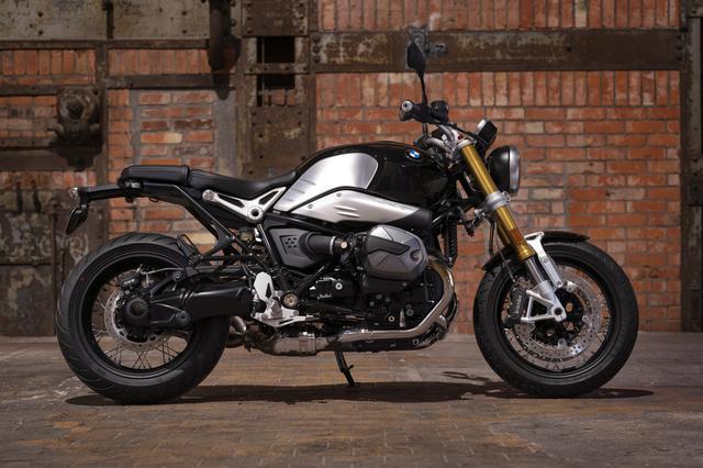画像: BMW R nineT 総排気量:1170cc エンジン形式:空油冷4ストDOHC4バルブ水平対向2気筒 シート高:805mm 車両重量:221kg 発売予定:2021年3月上旬 メーカー希望小売価格:税込224万円