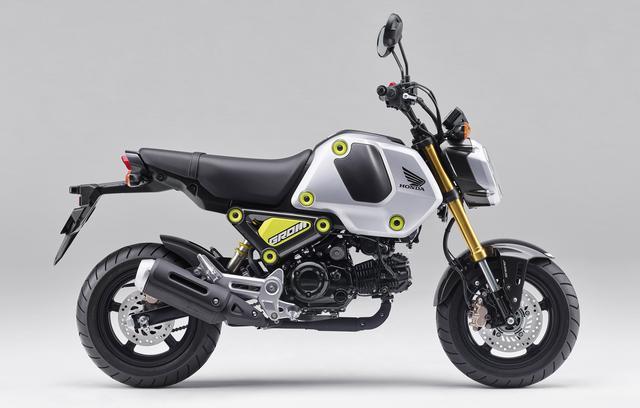 画像4: ホンダの原付二種 新型「グロム」は3月25日発売! 2021年モデルは外観とエンジンを一新、ミッションは4速から5速に!