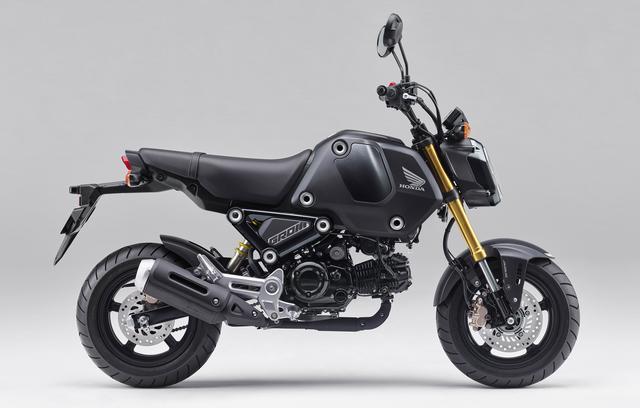 画像5: ホンダの原付二種 新型「グロム」は3月25日発売! 2021年モデルは外観とエンジンを一新、ミッションは4速から5速に!