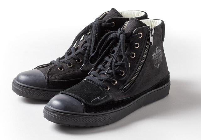 画像: ラフ&ロード ラフライディングスニーカーBS サイズ:23.0~28.0cm(1cm刻み) カラー:ブラック、オールブラック、グレー 税込価格:1万1880円