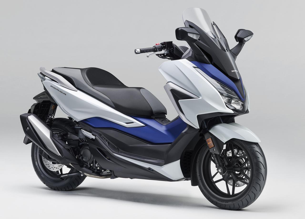 画像1: ホンダが新型「フォルツァ」を発売! モデルチェンジでエンジンを一新、スタイリッシュさを増した外観にも注目【2021速報】