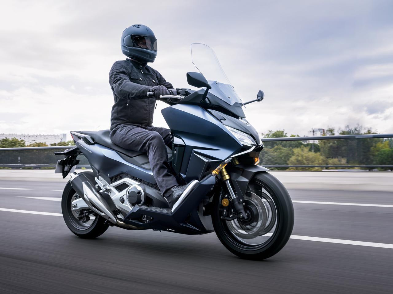 画像: 欧州では「フォルツァ750」が新登場 - webオートバイ