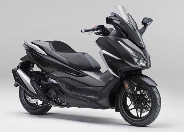 画像2: ホンダが新型「フォルツァ」を発売! モデルチェンジでエンジンを一新、スタイリッシュさを増した外観にも注目【2021速報】