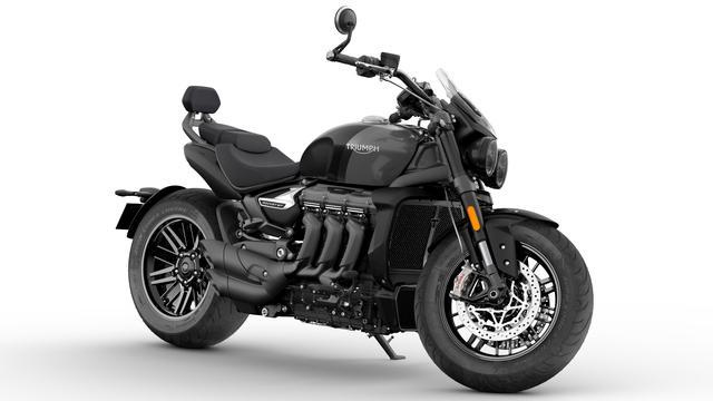 画像4: 世界最大排気量バイク「ロケット3」の限定モデルをトライアンフが2機種発表!「ロケット3 R ブラック」&「ロケット3 GT トリプルブラック」